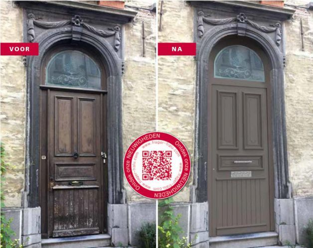Frager Fralu introduceert gepersonaliseerde Tradition-voordeuren