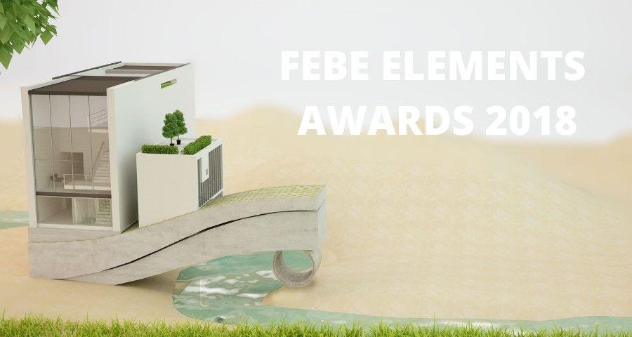FEBE Elements Award : 2018 : inscrivez-vous jusqu'au 5 octobre