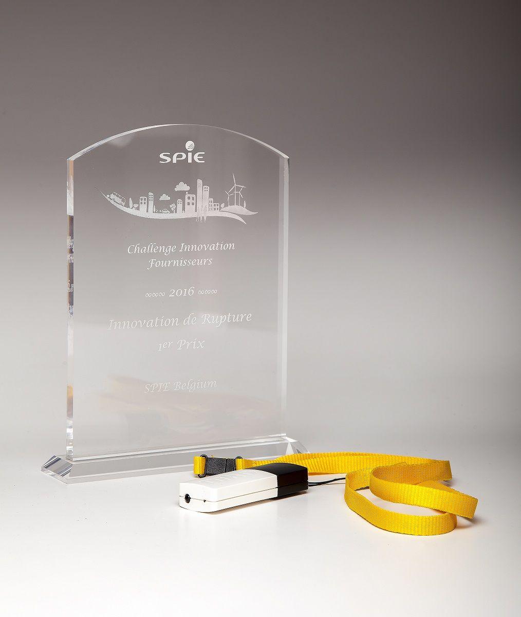 Niko ontvangt eerste 'disruptive innovation award' van SPIE Belgium