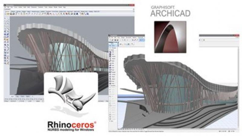 Graphisoft introduceert Rhino-Grasshopper-Archicad-connectie