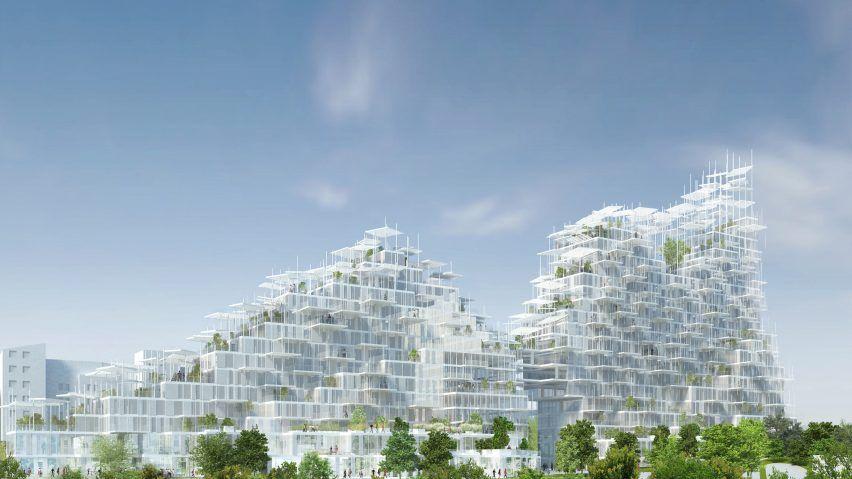 Parijs bereidt zich voor op 'Verticaal Dorp' van Fuijimoto