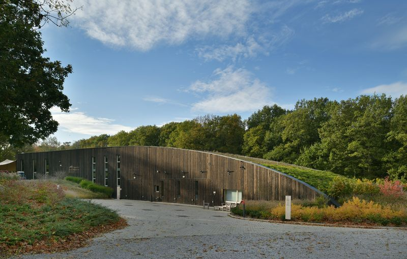 BBA Utility Building : Le chai de Bousval (AWAA for cwarchitects sprl)