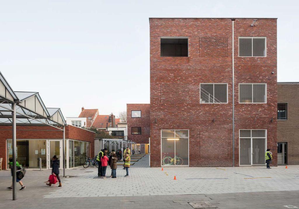 Nieuwe gebouwen voor de Ursulinen in Mechelen