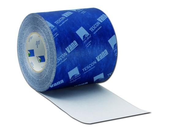 Luchtdichtingstape TESCON VANA belooft als enige in de markt honderd jaar kleefkracht