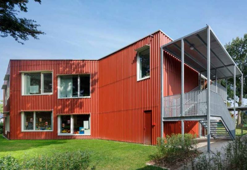 Extension d'une école fondamentale à Rumst (Bovenbouw Architectuur)