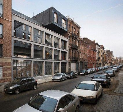 Complex Le Lorrain in Sint-Jans Molenbeek van MDW Architecture