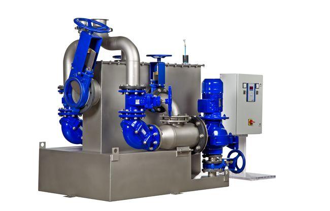 KSB Belgium introduceert de AmaDS³ (Dry Solids Separation System): een compact afvalwaterpompstation dat al jaren succes kent in Duitsland.