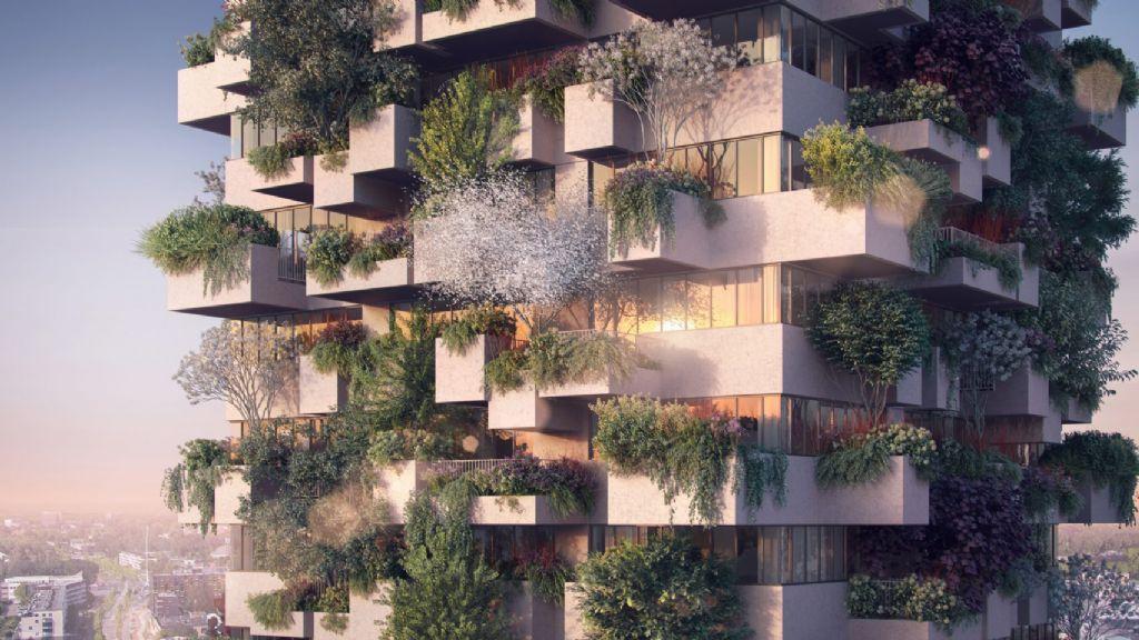 Boeri ontwerpt als eerste een bebost sociale huisvestingsproject