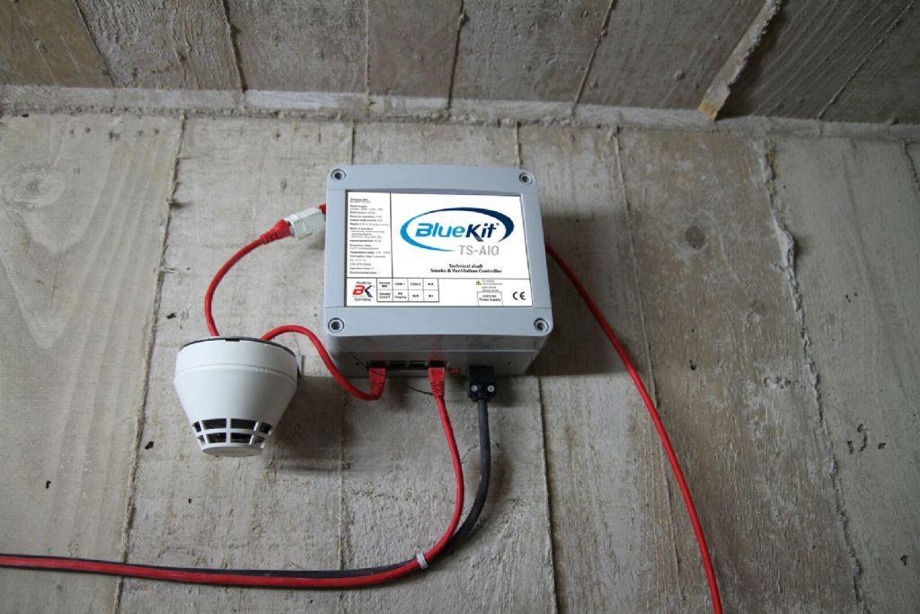 Bluekit ventilatieregelsysteem voor technische schachten is flexibele oplossing