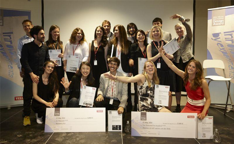 De winnaars en de eervolle vermeldingen van de VIDA's.