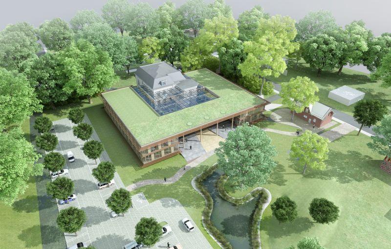 Voor het vernieuwde gemeentehuis van Brummen (NL) vertrok RAU van een monumentale villa en koppelde efficiënt energie-, materiaal- en ruimtegebruik aan moderne architectuur.
