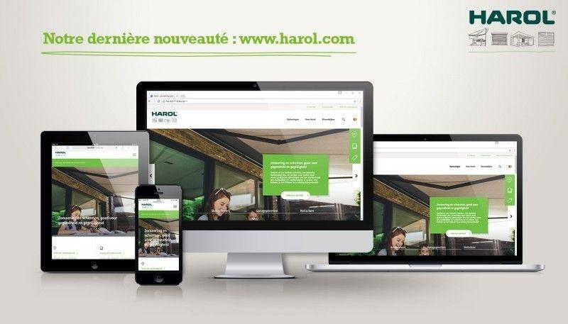 L'expérience client au centre du nouveau site web de HAROL