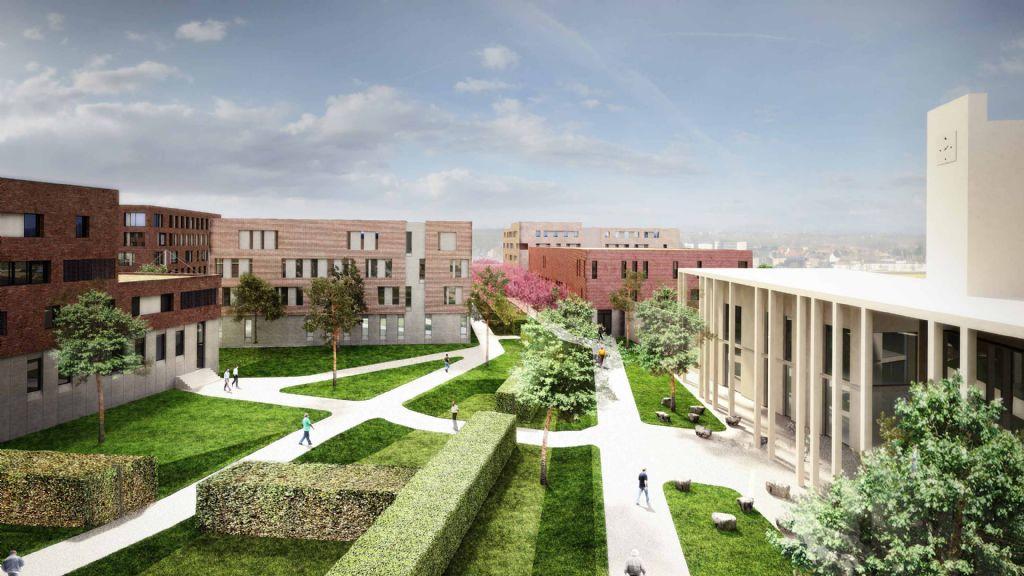 EGM en B2Ai ontwerpen gevangeniscomplex Haren