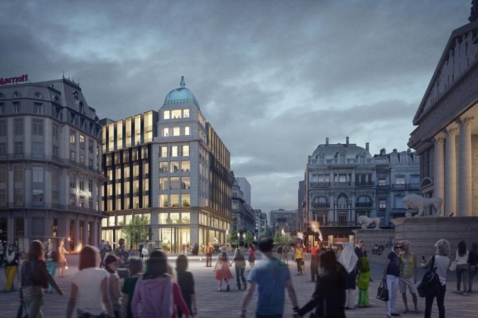 A Bruxelles, l'ancien immeuble d'Actiris devient The Dome