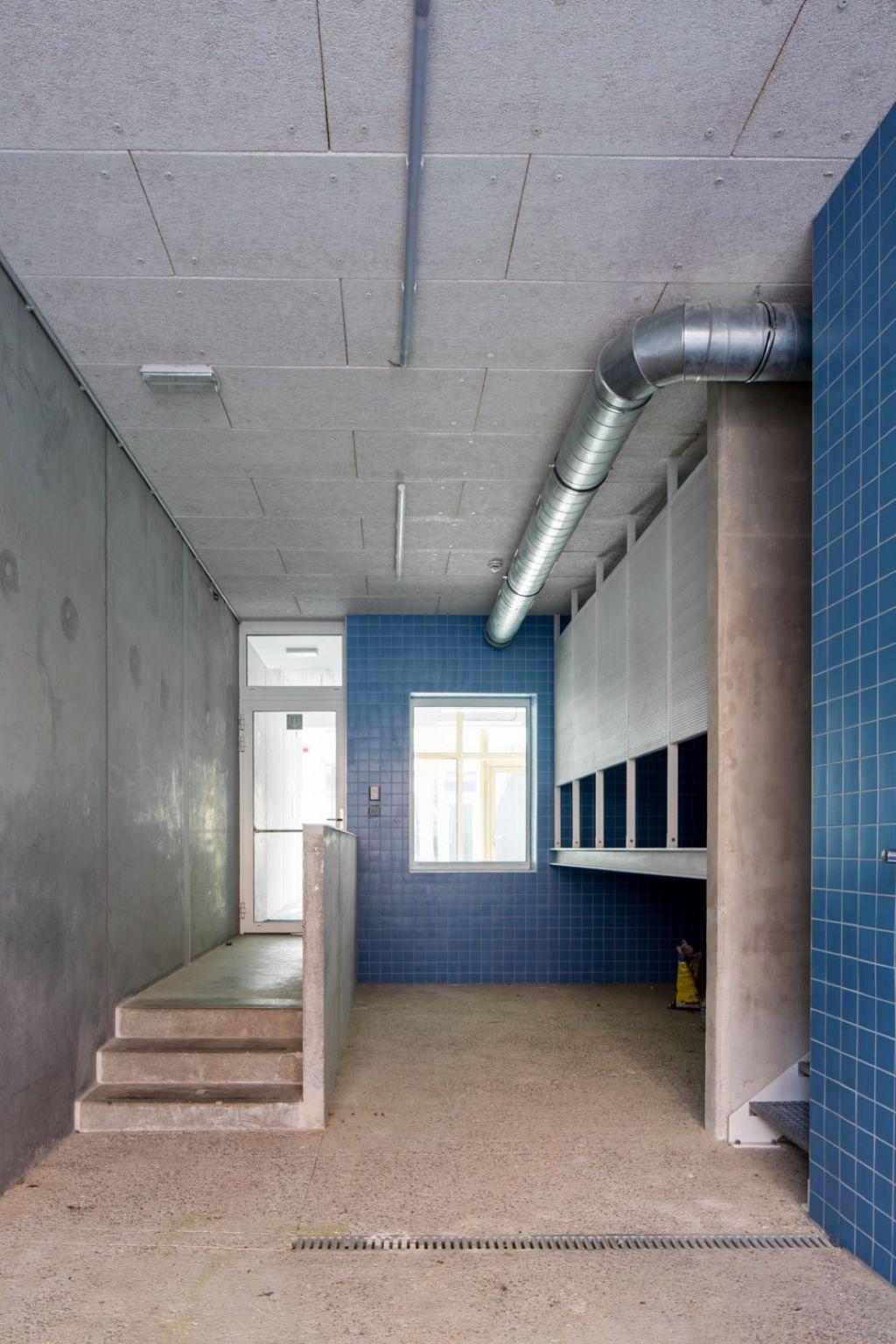 Construction d'un petit immeuble pour la commune de Schaerbeek