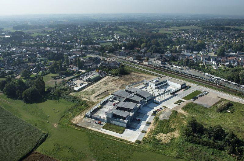 Nieuw jeugdcentrum en brandweerkazerne Asse