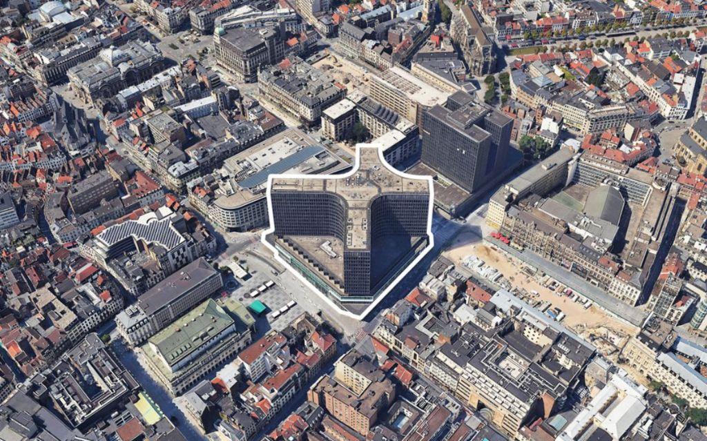 Réhabilitation du Centre Monnaie : Binst Architects et OFFICE Kersten Geers David Van Severen parmi les prétendants