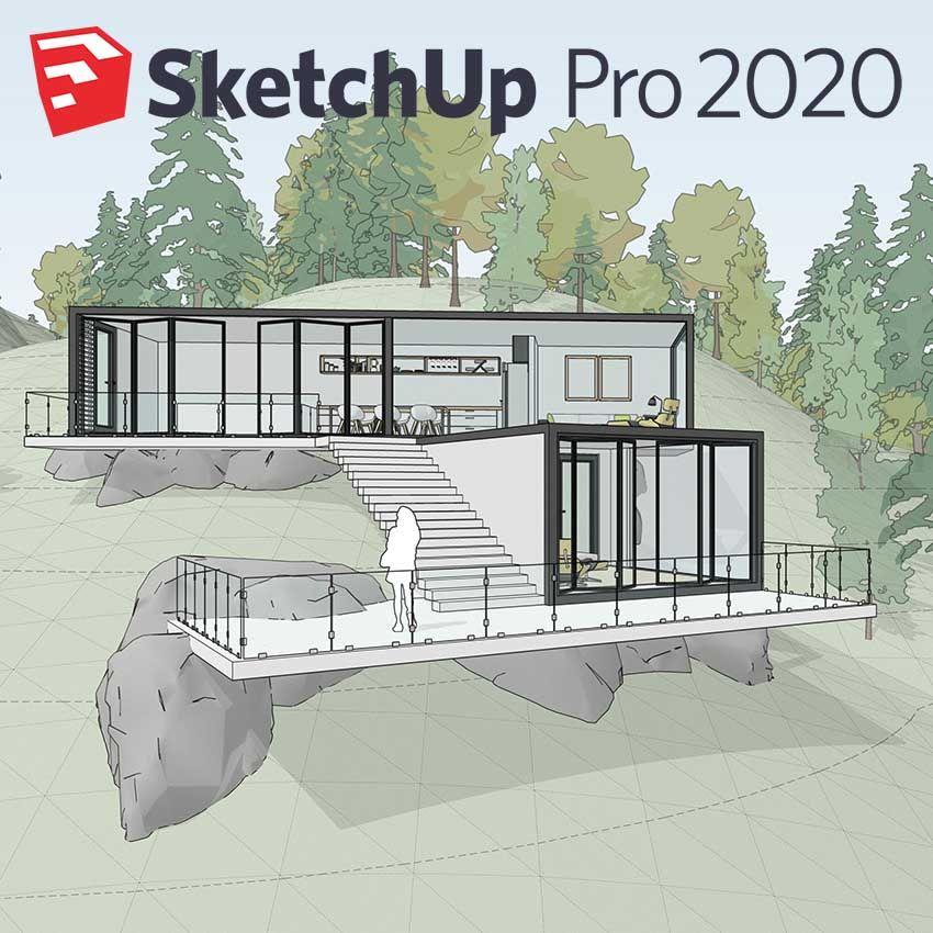 C3A geeft webinar gewijd aan SketchUp PRO met Layout 2D en Enscape 3D