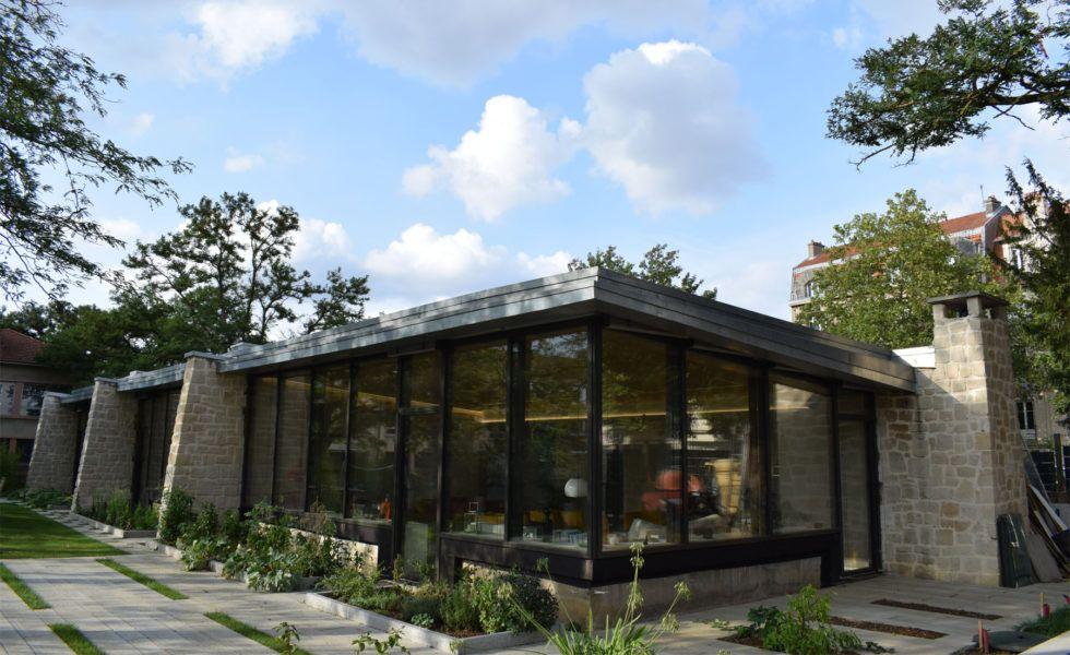 Une ancienne école transformée en une maison passive
