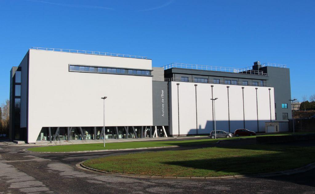 Des Archives de l'État flambant neuves à Arlon