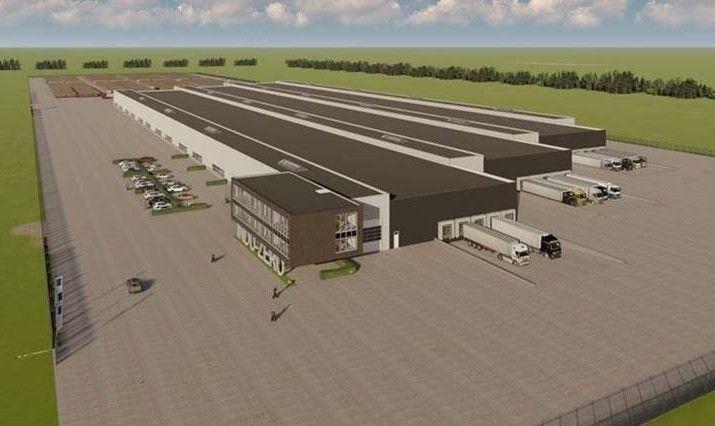 Ontwerp van de INDU-ZERO fabriek