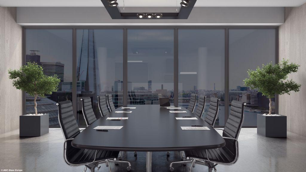 Halio : nouvelles fenêtres et parois interactives d'AGC Glass Europe