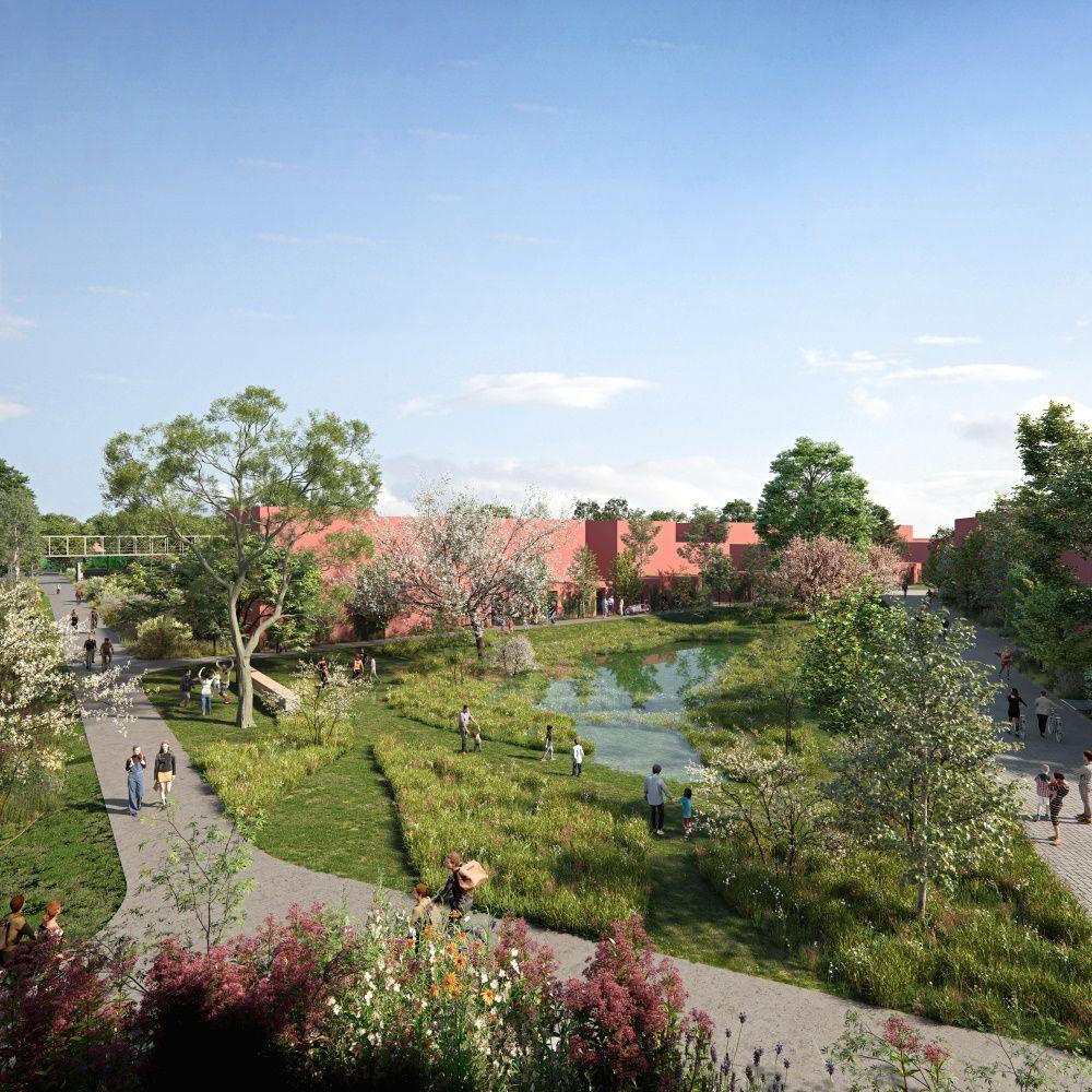 Masterplan Achtergael transformeert verwaarloosde site Agfa-Gevaert tot residentiële wijk