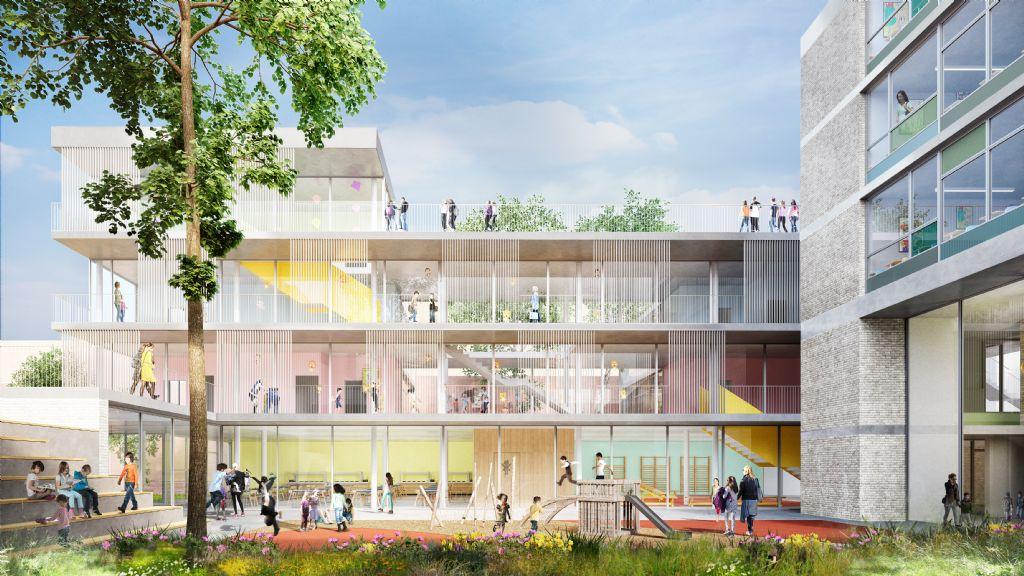 Campus Gallaitsite Schaarbeek
