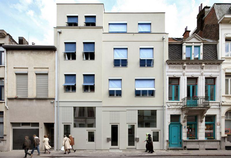 Drie passiefwoningen, Borgerhout – ONO architectuur