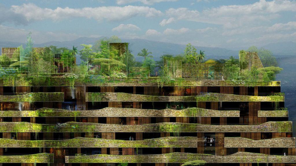 Ateliers Jean Nouvel voltooit eerste fase Aquarela-complex in Ecuador