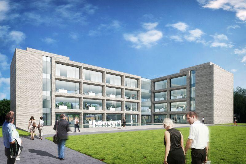 Het gebouw heeft plaats voor 3500 vierkante meter aan kantoren, 1350 vierkante meter aan archiefruimte en 1350 vierkante meter aan ondergrondse parkeerruimte.