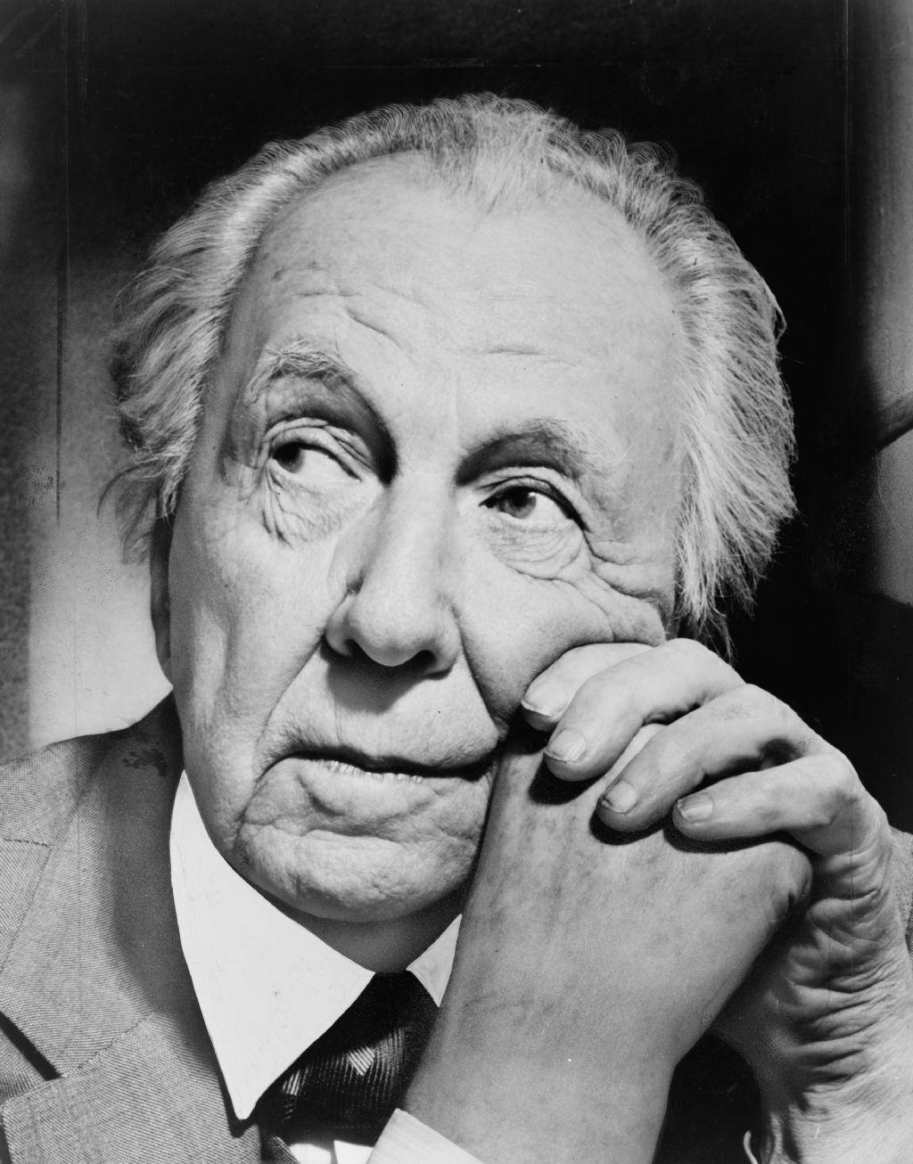 Frank Lloyd Wright (1867-1959).