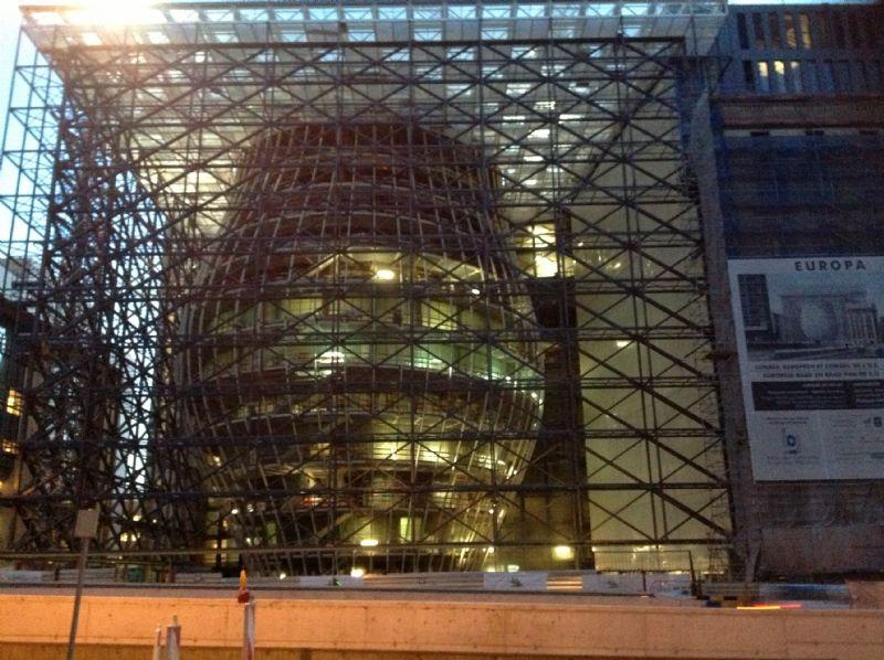Zetel Europese Raad Brussel.