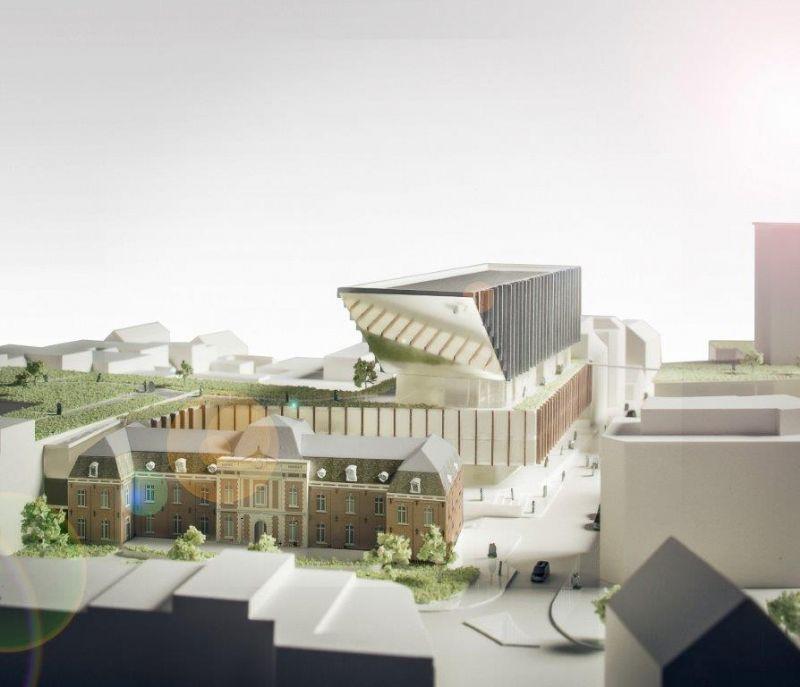 Speciaal ontworpen plafond afgestemd op specifieke EPB-eisen voor stadhuis Hasselt