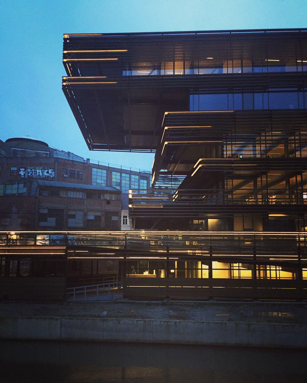 De Krook in Gent, een ontwerp van Coussée & Goris architecten.