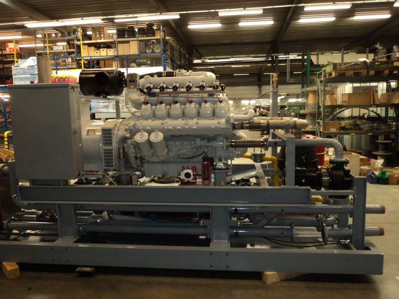 """""""Een studie omtrent de base load aan warmtevraag in dit type gebouw wees uit dat de motor jaarlijks gemiddeld vijfduizend draaiuren kan gaan maken,"""" aldus Tom Dilen van Continental Energy Systems."""