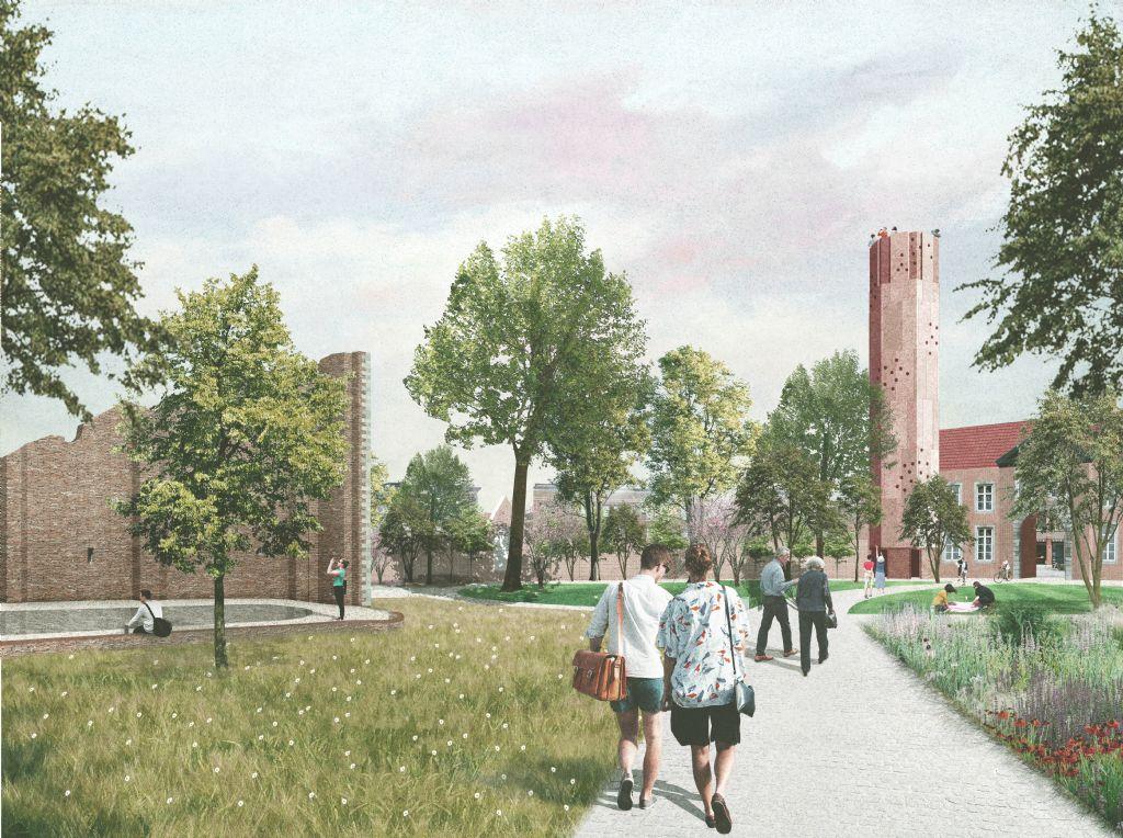 Hasseltse faculteit Architectuur krijgt plek in gerestaureerd Begijnhof