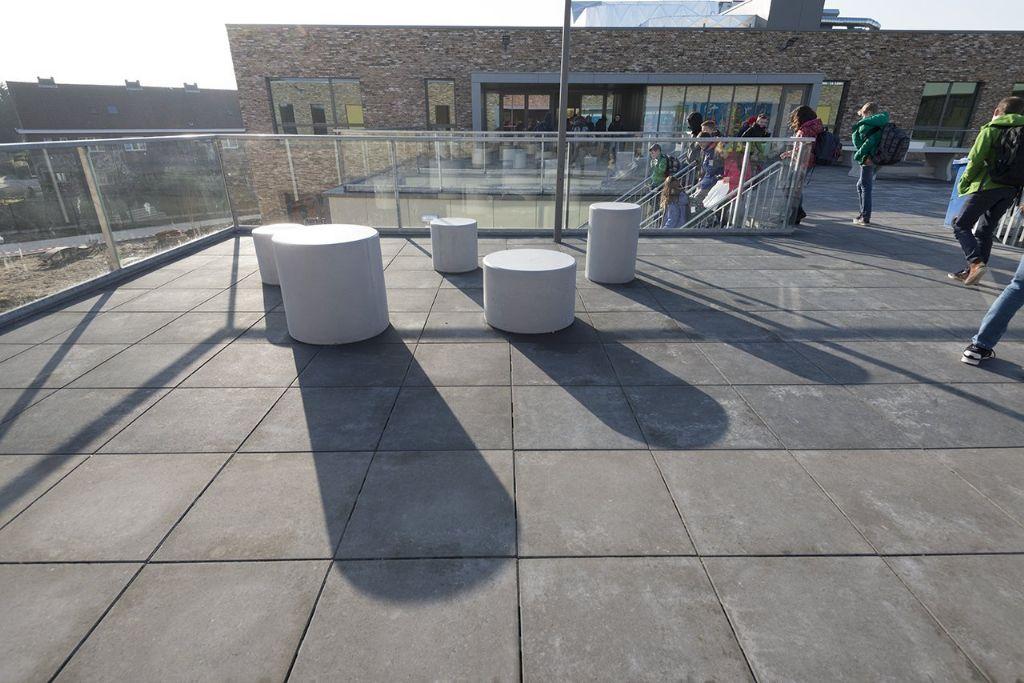 Campus Ieperstraat (kOsh) krijgt dakplein