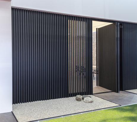 Aluminium gevelbekleding voor een trendy woninguitstraling