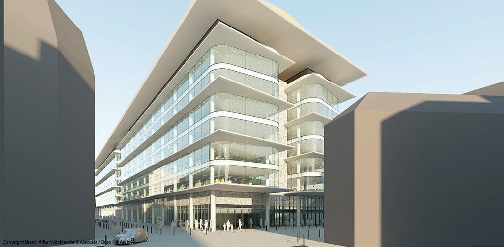 Brucity, nouveau centre administratif pour la ville de Bruxelles