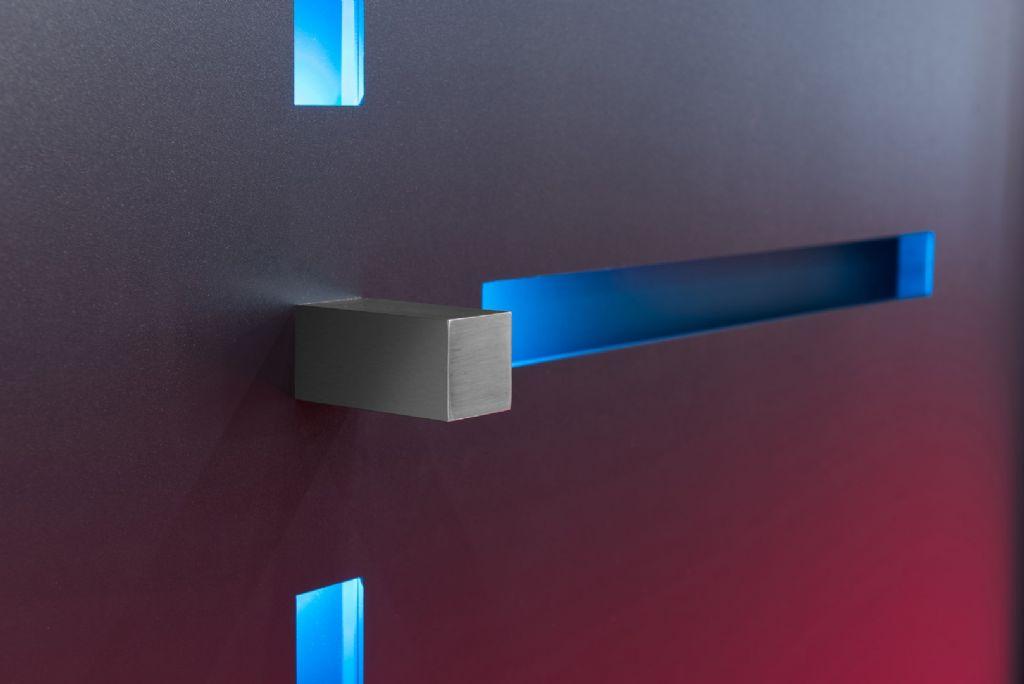 Minimal, des portes élégantes avec éclairage LED intégré