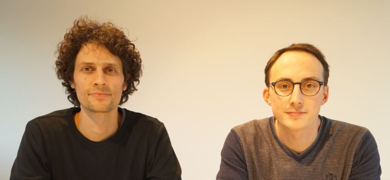Wout en Stan Vandriessche.