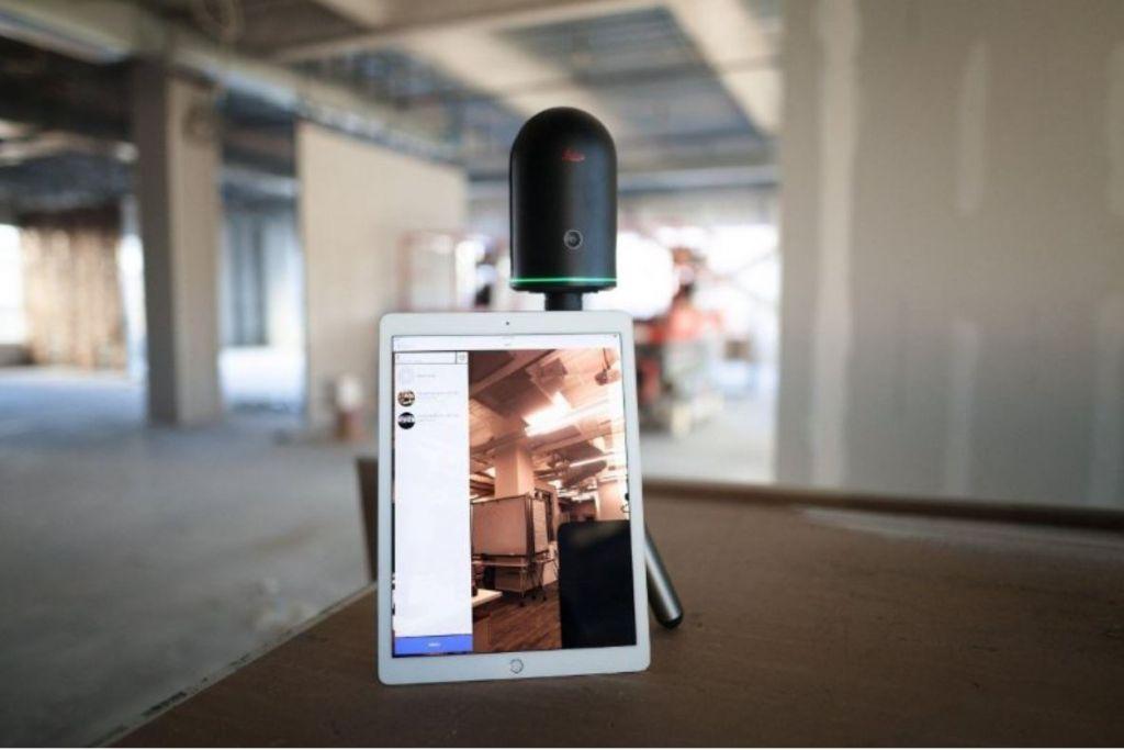 Leica Geosystems stelt BLK360 Imaging Scanner en Autodesk ReCap 360 pro app voor