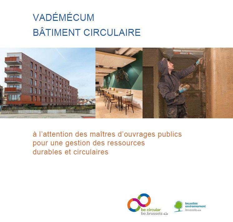 Un vadémécum pour concilier marchés publics et construction / rénovation circulaire