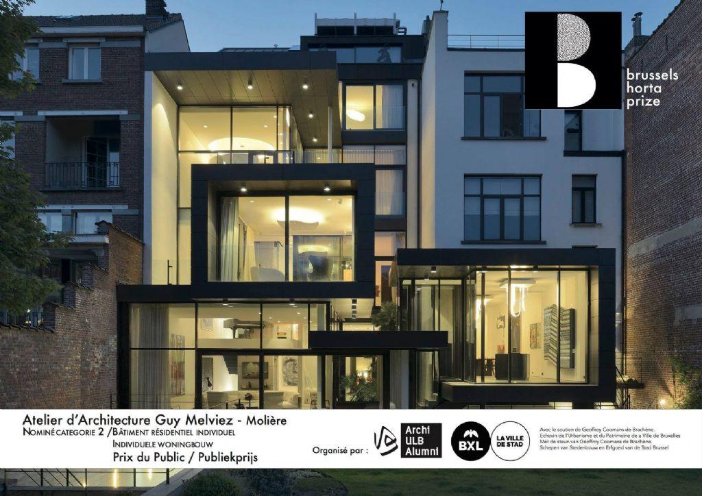"""Prix du Public : Atelier d'Architecture Guy Melviez GNS - Architects - GMA pour le projet """"Molière"""""""