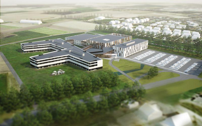 Zo zal ziekenhuis Maas en Kempen er binnenkort uitzien.