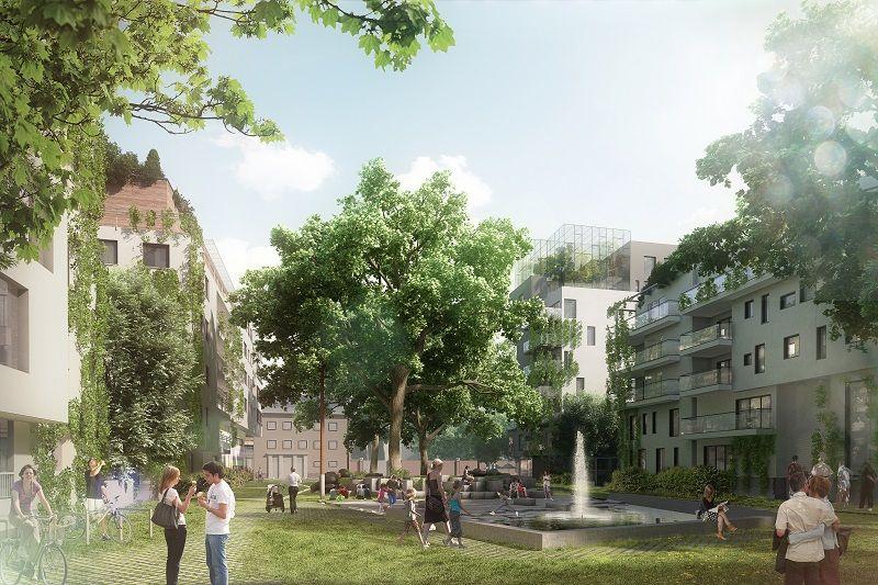 Tivoli, futur quartier durable à Laeken (association momentanée ADRIANA)