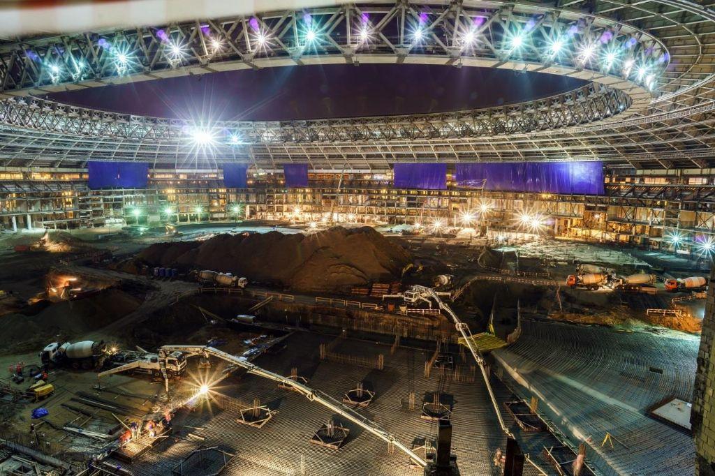 LafargeHolcim, fournisseur de solutions constructives pour les stades de football en Russie