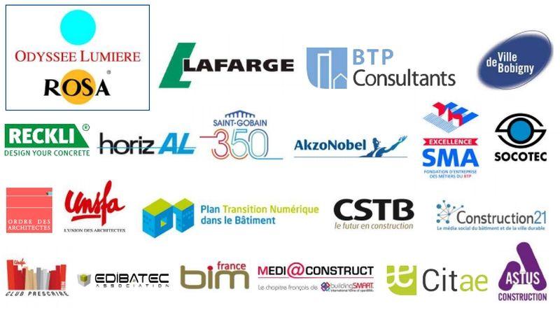BIM Contest 2016 (Bobigny) : sponsors