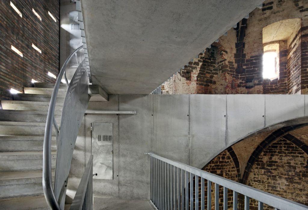 Verschillende betonsamenstellingen spelen hoofdrol bij restauratie Maagdentoren